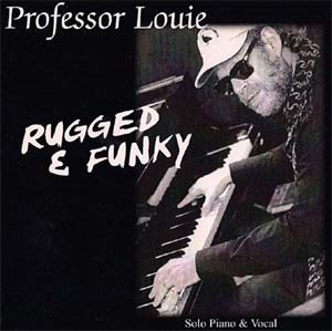 Professor Louie - Rugged Funky CD